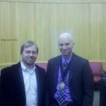 Dr. Jared Leighton wins the Folsom Distinguished Dissertation Award, February 2014. University of Nebraska.