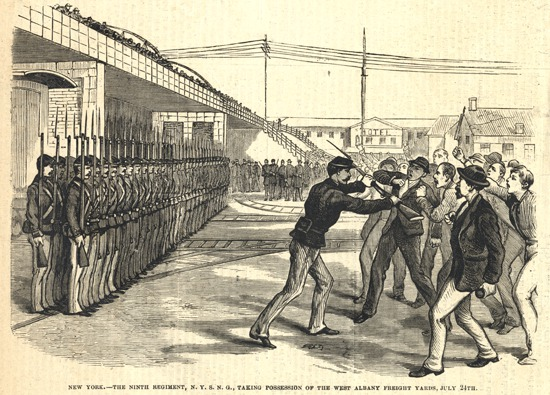 great railroad strike essay Railroad acted as an alternative mode of transport which farmers used to travel from rural areas to the urban market whenever they had need, they also used the railroad to transport their produce thus interacting with people from other parts of the country.
