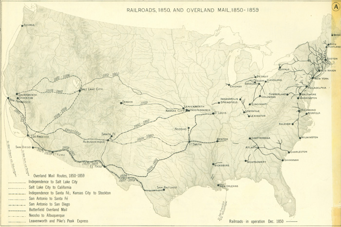 Railroads And The Making Of Modern America Search - Map of us railways