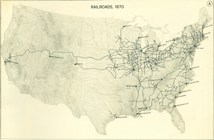 Railroads and the Making of Modern America – Map Us Railroads