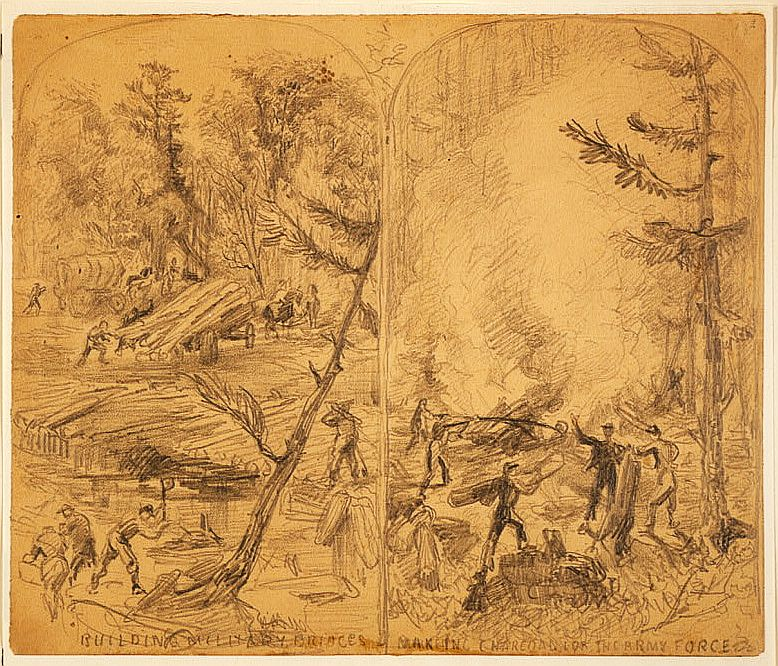 Imageflow Alfred R  Waud, Civil War Sketch Artist in the Great Plains