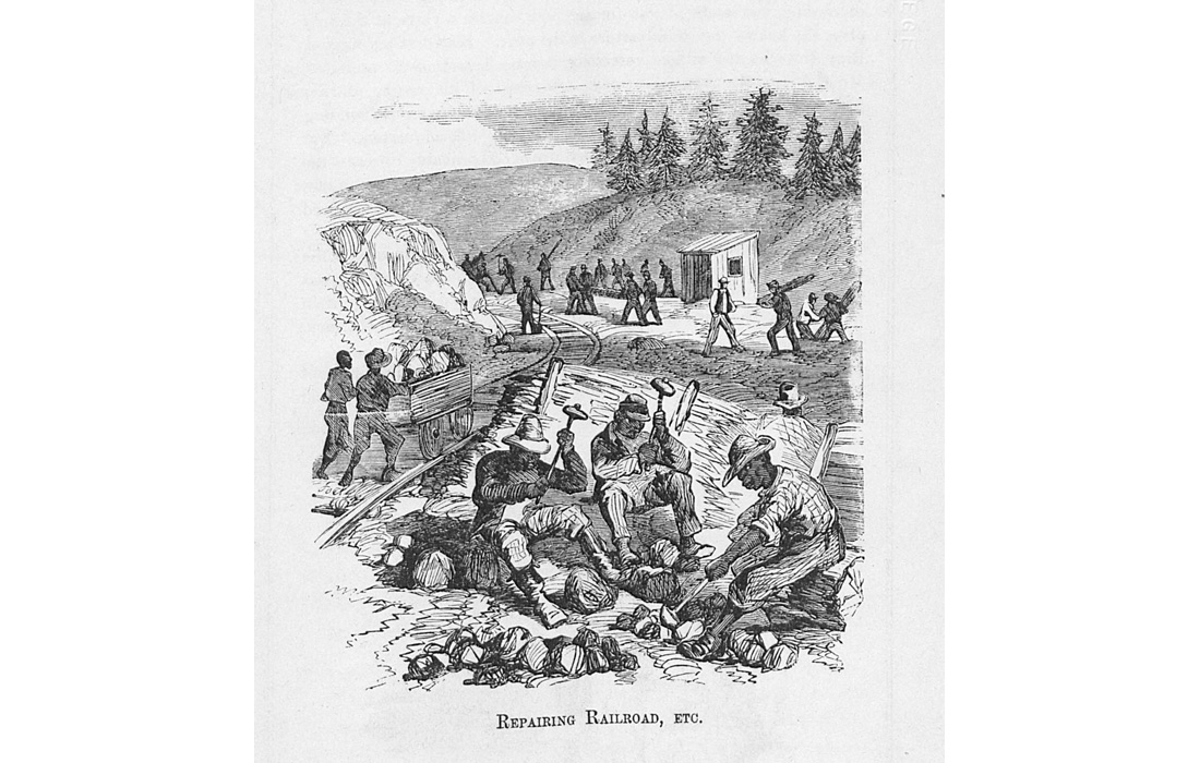 'Report of Services Rendered by the Freed People to the United States Army, in North Carolina in the Spring of 1862 After the Battle of New Bern' by Vincent Colyer; published 1864